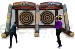 Double Axe Throwing Inflatable Game