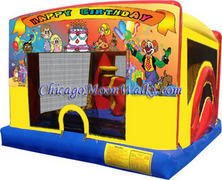 Indoor/Outdoor Happy Birthday 4in1 Toddler Combo