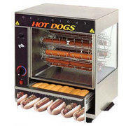 Hot Dog Rotisserie Machine
