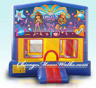 It's A Girl Thing Module Bounce House