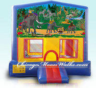 Jungle Fun Module Bounce House