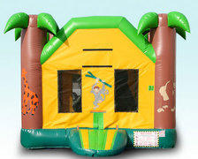 Jungle 5-in-1 Mini Combo Bounce House