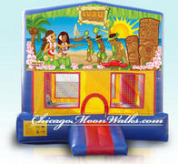 Luau Module Bounce House