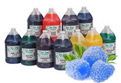 Sno Cone - Extra Syrup Blue Raspberry 50 Servings
