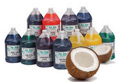 Sno Cone - Extra Syrup Coconut 50 Servings