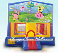 Spongebob Module Bounce House