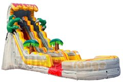 T Rex Dinosaur Waterslide 19 ft