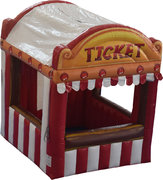 Carnival Inflatable Ticket Booth