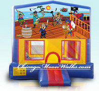 Treasure Island Pirate Module Bounce House