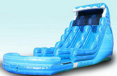 Tsunami Dual Lane Waterslide 22 ft