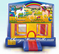 Unicorn Fantasy Module Bounce House