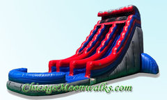 Wave Runner Dual Lane Waterslide 22 ft