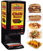 Chili Dispenser Includes 50 servings