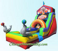 Circus Time Waterslide 18ft