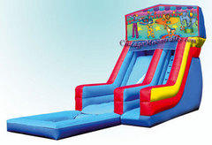 Circus Waterslide with Pool