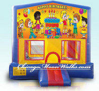 Happy Birthday Module Bounce House 2