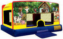 Indoor/Outdoor My Little Farm Toddler Moonwalk