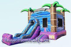 Purple Crush Combo Bounce House