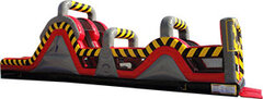 Rally Run Inflatable Slide Obstacle Course 50