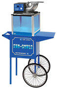 Sno Cone Machine with cart Includes 100 servings