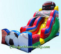 Sports Splash Waterslide 18 ft