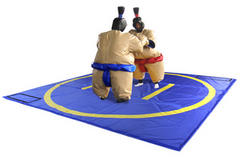 Sumo Wrestling Suits and Mat