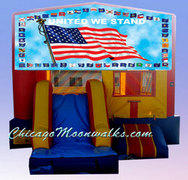 3-in-1 United We Stand Patriotic Flag Combo