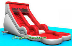 Volcano Waterslide With Pool
