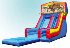 Western Cowboy Waterslide with Pool