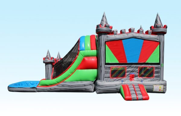 Grey Castle Bounce and Slide