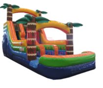 15' Adventure Island Slide Wet or Dry Double Lane