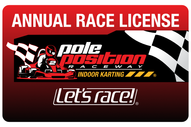 Annual go kart race license