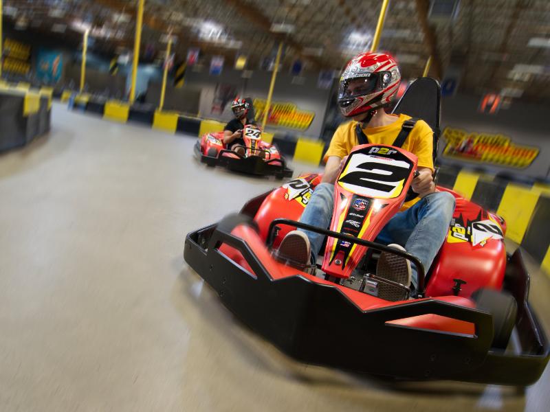 Adult Go Kart Birthday Parties
