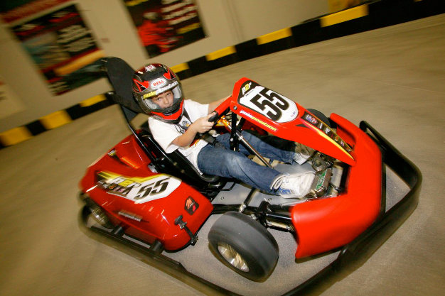 Kid go kart races