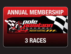 Adult 3 Race Annual Membership