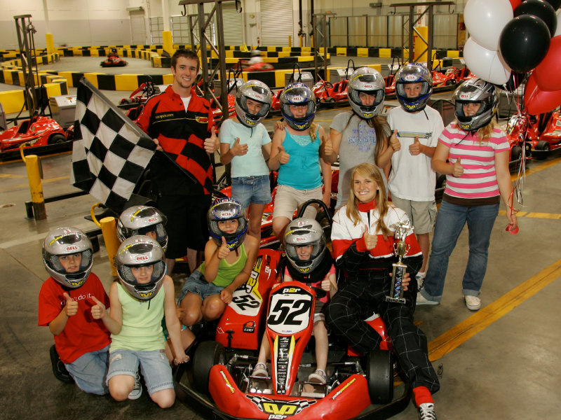 Kids Champion Party Package racers