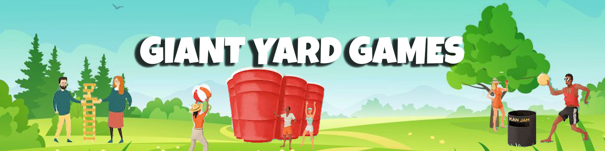 Giant Yard Game Rentals