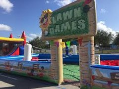 Lawn Games Inflatable Arena
