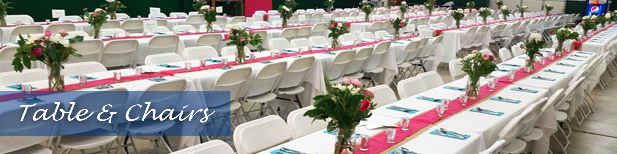 Table and Chair Rentals Fort Walton Beach
