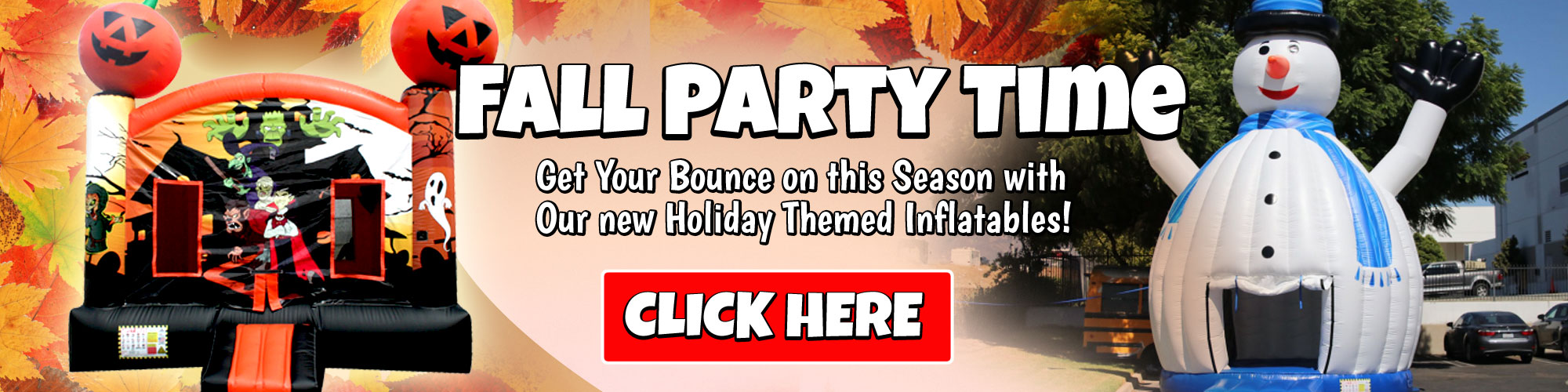 Holiday Bounce House Rentals