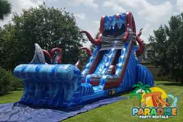 water slide rentals katy tx