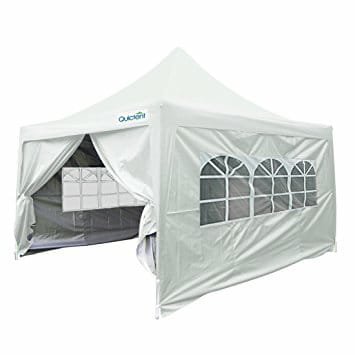 10x10 High Peak Tent with 4 Sidewalls