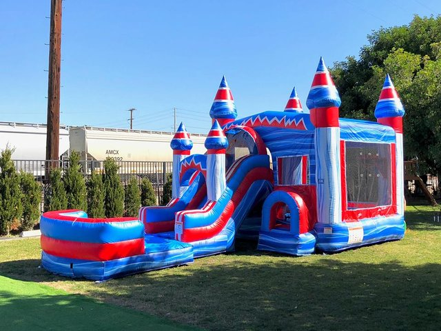 Party Package #4(Bounce House with Slide)