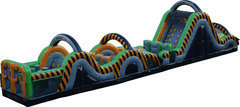 65' Radical Run Inflatable Obstacle Course A/C