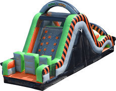30' Radical Run Inflatable Obstacle Course - Part C