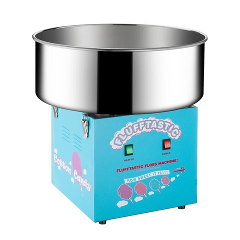 Blue Cotton Candy Machine