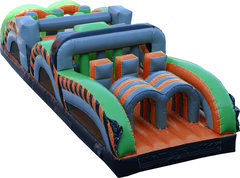 31' Radical Run Inflatable Obstacle Course - Part B