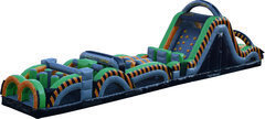 61' Radical Run Inflatable Obstacle Course - B/C
