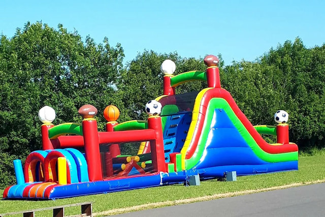 55' Sports Obstacle Course (availible after July 15th)