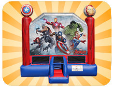 Marvel Avengers Bounce House